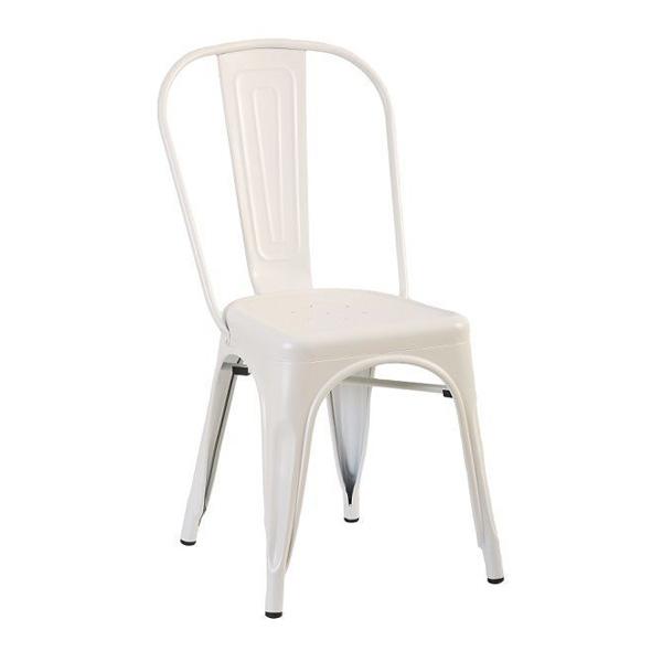 Tolix Metal Sandalye Beyaz