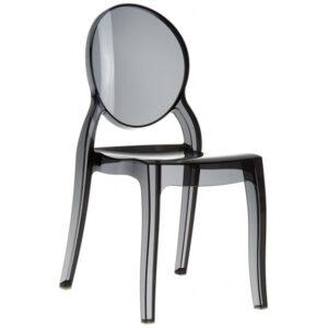 Plastik Transparan Sandalye BSS034