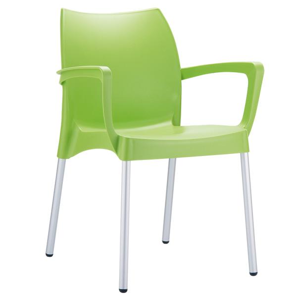plastik kollu sandalye