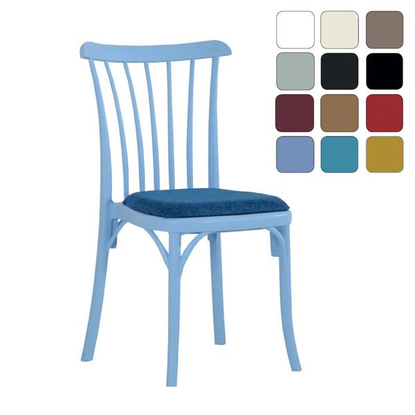 Plastik Minderli Sandalye