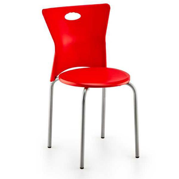 Metal Plastik Sandalye
