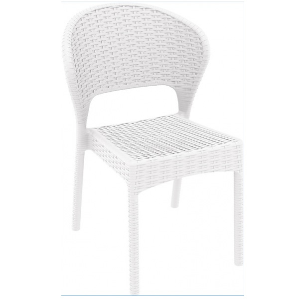 Plastik Rattan Sandalye