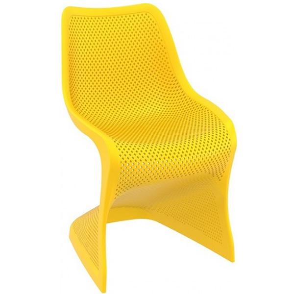 Plastik Sandalye Sarı